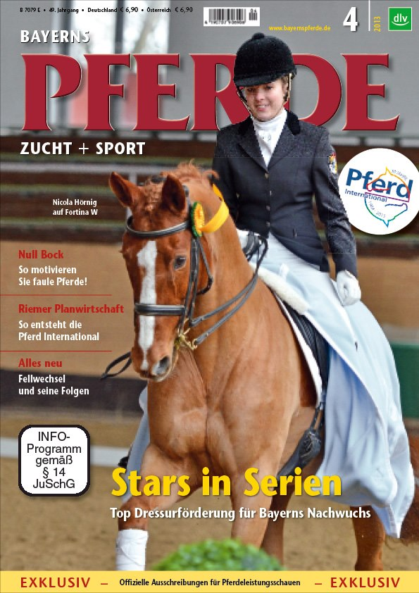 Titelfoto Bayerns Pferde April 2012